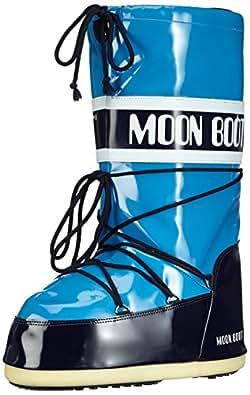Tecnica  MOON BOOT VINIL AZZURRO/BLU, Chaussures de fitness outdoor femme - Bleu - Bleu (26), 31/34 EU