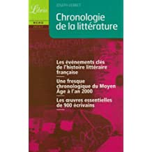 Chronologie de la littérature