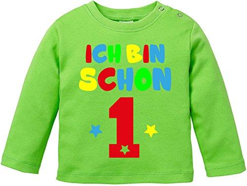 EZYshirt® Ich bin schon eins | BIO Baby T-Shirt Longsleeve