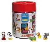SEEKO Blocks BA4006 Konstruktionsspielzeug Barrel Jungle 5 Characters, 100 Stück