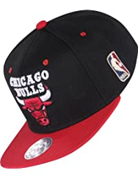 Mitchell & Ness BB Special Snapback CHICAGO BULLS Black Red