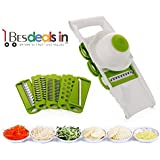 Smart Manual Chopper Chopper To Use Fruit & Vegetable Cutter - All In One/Kitchen Tool (Multi Color)