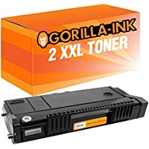 Gorilla-Ink® 2x Toner XXL compatibile con Ricoh SP100 Black SP 112 SU SP 112 SUE Ricoh SP 110 Series SP 112 SP 112 E SP 112 SF SP 112 SFE SP 112 SU SP 112 SUE