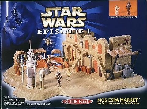 Star Wars Episode 1 - Action Fleet 68157 – Mos Espa Market und Anakins Home (inkl. Anakin Skywalker und (1 Anakin Skywalker Action-figur)