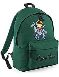 Besten Preis für BagBase Kindergartenrucksack 14l Kinder Rucksack bestickt mit Namen und Motiv Einhorn Feuerwehrmann Polizist Feuerwehrauto... bei kinderzimmerdekopreise.eu