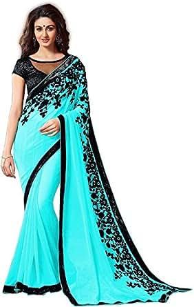saree (Krishna Emporia Women's Clothing Saree Today best offers buy online in Low Price Sale Designer Free Size Ladies Sari With Blouse Piece)