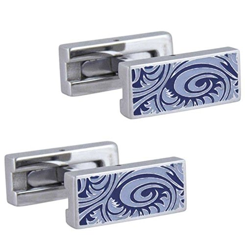 Suay Design Boutons de manchette homme rectangle & de fixation en T