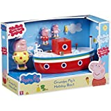 Peppa Pig Holiday Time Grandpa Pig's Boat-Parent