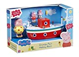 Character Options Peppa Pig Holiday Time nonno Pig Bath Boat Playset