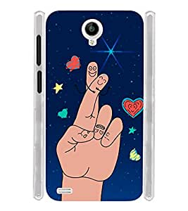 Fun Manly Soft Silicon Rubberized Back Case Cover for Vivo Y22