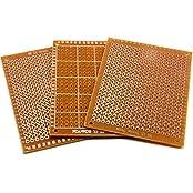 Stk./pcs. 3 x LOCHRASTERPLATINE STRIP BOARD Leiterplatte Platinen PCB 50mm x 70 mm #A717