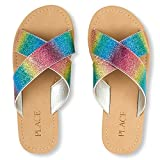 #6: The Children's Place Girl's Multi Clr Flip-Flops and House Slippers