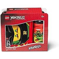 LEGO Juego de Almuerzo Ninjago, Negro/Rojo, Talla única