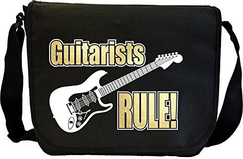 Electric Guitar Rule - Sheet Music Document Bag Musik Notentasche MusicaliTee
