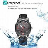 FOXWEAR Y22 Blau Zahn 4.0 Smart Watch Smartwatch Wasserdichtes Armband für iOS Android