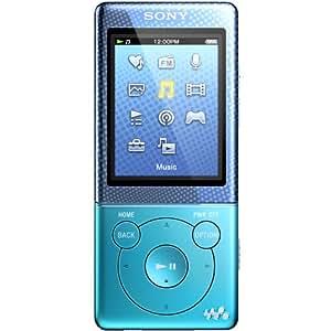Sony NWZE474 8GB MP3 Walkman Player - Blue