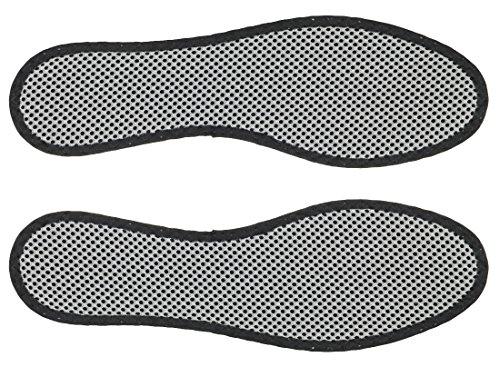 3 Paar Bergal Aktivkohle Einlegesohle Gr. 36-48 Gr. 44