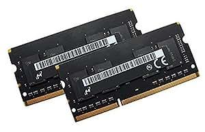 'Micron original Dual Channel Kit 2x 4Go 204broches DDR3-1866SO-DIMM (1866, PC3L de 14900s, CL13) compatible avec Apple iMac 27Retina 5K (Late 2015)