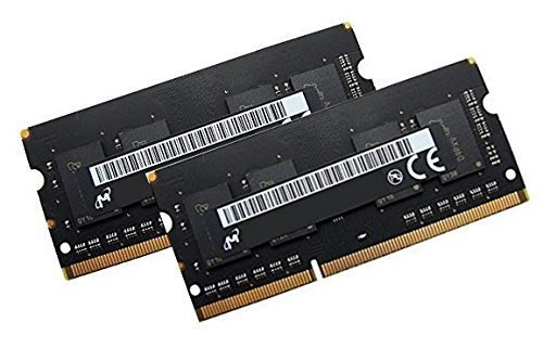 Micron Original Dual Channel Kit 2 x 4 GB 204 pin DDR3-1866 SO-DIMM (1866Mhz, PC3L-14900S, CL13) passend für Apple iMac Retina 27