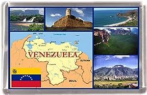 Venezuela carte cadeau souvenir Aimant de réfrigérateur