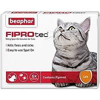 Beaphar, FIPROtec, antipulci per gatti (6fiale)