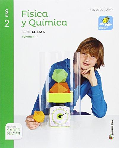 FÍSICA Y QUÍMICA SERIE ENSAYA MOCHILA LIGERA 2 ESO SABER HACER - 9788468040035