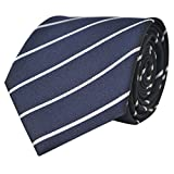 #7: Kanthlangot Self Design Microfibre striped Tie