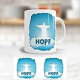 """ADDIES Jesus Tasse Motiv """"Hope"""" hübscher bedruckter Becher"""