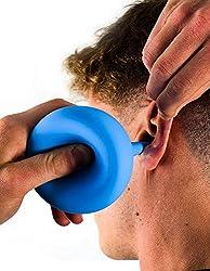 Premium Ohrenreiniger von Avaura [2019] - 200ml – inkl. E-Book – medizinische Ohrenspritze mit großem Fassungsvermögen – optimale Ohrendusche zur Entfernung von Ohrenschmalz für Kinder & Erwachsene
