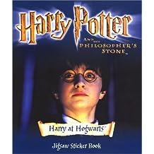 Harry Potter (Movie)- Jigsaw Sticker Book - Harry at Hogwarts(Pb)