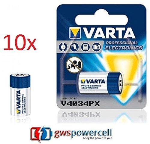 GWS POWERCELL VARTA PROFESSIONAL ELECTRONICS V4034PX chacun im Blister individuel Emballé / NOUVEAU ET DANS L'EMBALLAGE D'ORIGINE (V4034PX, 10-pc)