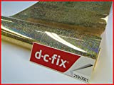 DC Fix Glitzer Kontakt Papier glänzend Sticky Selbstklebendes Vinyl Film 2 M X 45 cm gold 219-0001