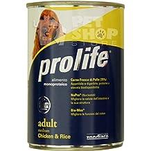 Prolife Adult Medium Pollo e Riso umido per cani 400 gramm