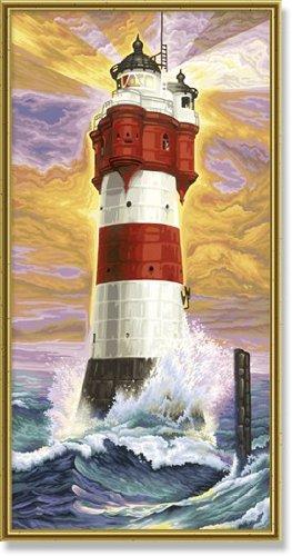 Schipper-609220399-Malen-nach-Zahlen-Leuchtturm-Roter-Sand-40×80-cm