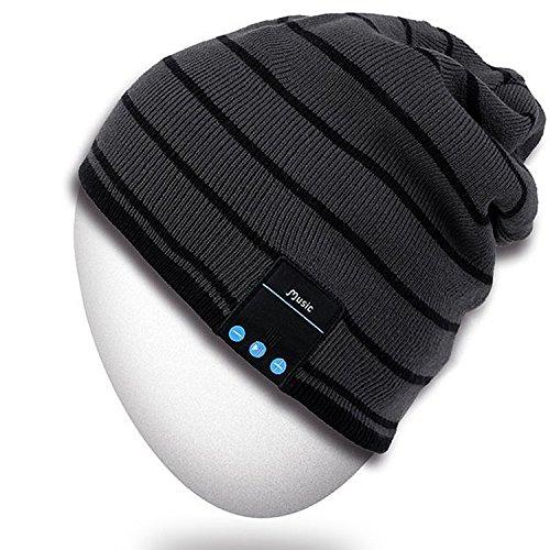 Bluetooth Sombrero, Mydeal unisex adulta de moda caliente suave de punto...