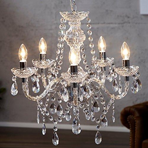 lustre-de-luxe-elegance-oe-54-cm-transparent-lustre-avec-5-branches-cristaux-acryliques