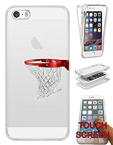 "c01355 - Basketball Hoop American Sport Shooting Hoops Design iphone 6 6S 4.7"" Fashion Trend Complete 360 Degree protection Coque Gel Rubber Silicone protection Case Coque"