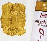 Magi® Ölfarbe, 180 ml Großtube feine Künstlerqualität (24-Gold)