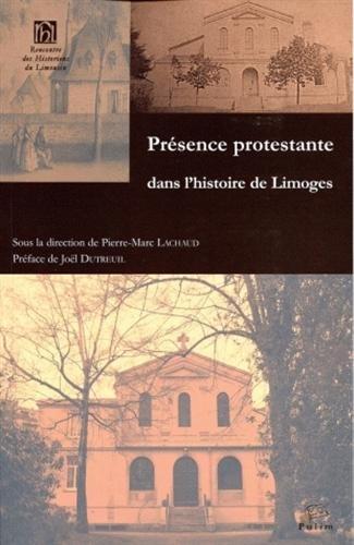 Présence protestante dans l'histoire de Limoges