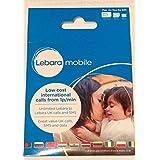 Lebara 3G/4G Multi SIM wiederaufladbar International SIM-Karte–Inklusive Nano/Micro/Standard-in SIM
