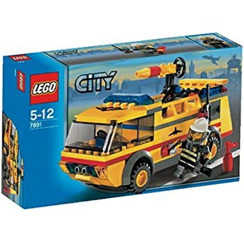 lego city jeu de construction le camion des pompiers de l 39 a roport jeux et jouets. Black Bedroom Furniture Sets. Home Design Ideas