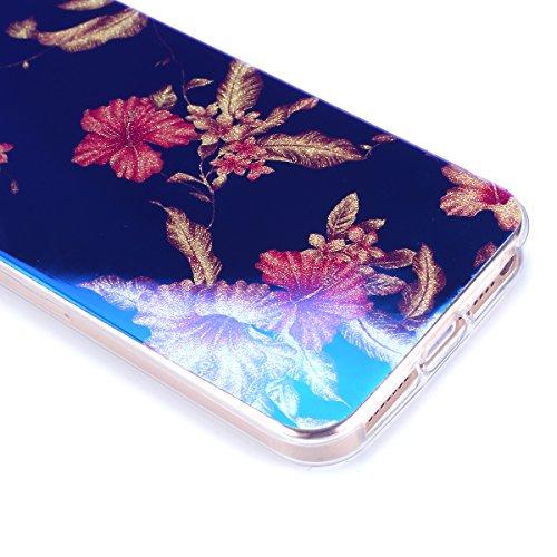 iPhone 5S Hülle,iPhone SE Hülle,iPhone 5 Hülle,iPhone SE 5S 5 Schutzhülle Case,ikasus® TPU Silikon Schutzhülle Case Hülle für iPhone SE 5S 5,Rosen Blumen Muster Kristall Bling Glänzend Glitzer Überzug Azaleen