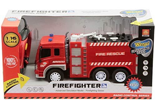 RC Feuerwehr kaufen Feuerwehr Bild 1: Spiel AG Feuerwehrauto R/C ferngesteuert Fire Truck 1:16 mit Licht*