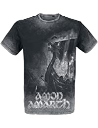 Amon Amarth One Thousand Burning Arrows T-Shirt Charcoal