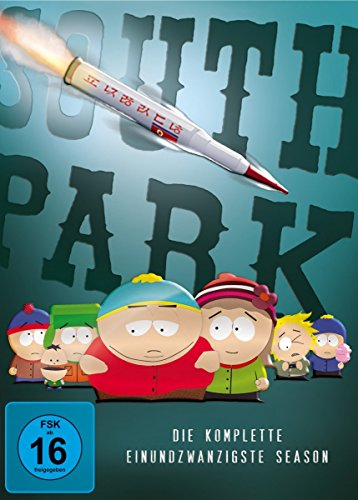 South Park: Die komplette einundzwanzigste Season [2 DVDs]