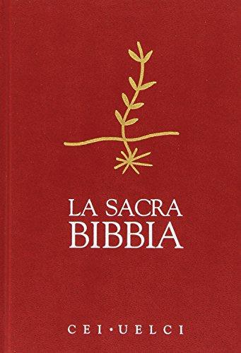 La Sacra Bibbia. UELCI. Versione ufficiale della Cei [Copertine Assortiti] di Conferenza episcopale italiana
