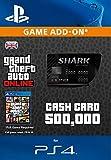 Grand Theft Auto Online: Bull Shark Cash Card [PS4 PSN Code - UK account]