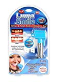 Moradiya Fresh Tooth Polisher Whitener Stain Remover with LED Light Luma Smile Rubber Cups