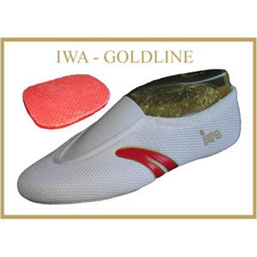 IWA-Gymnastikschuhe - Zapatillas de danza para mujer, color blanco, talla 40