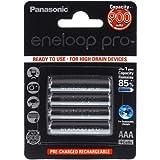 Panasonic eneloop Pro Akku AAA - 4er-Blister (BK-4HCCE/4BE), 4x 1,2V, NiMH